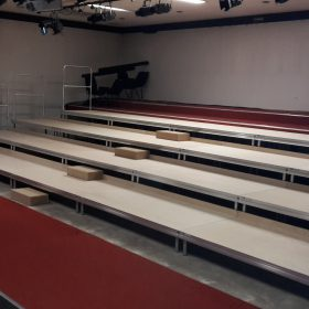 Tiered Stage 10m x 4m Theatre Seating