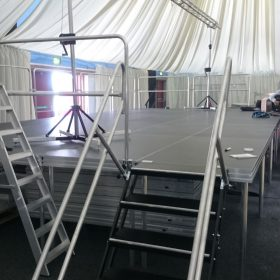 BPL Barnsley Metrodome Stage & Truss System