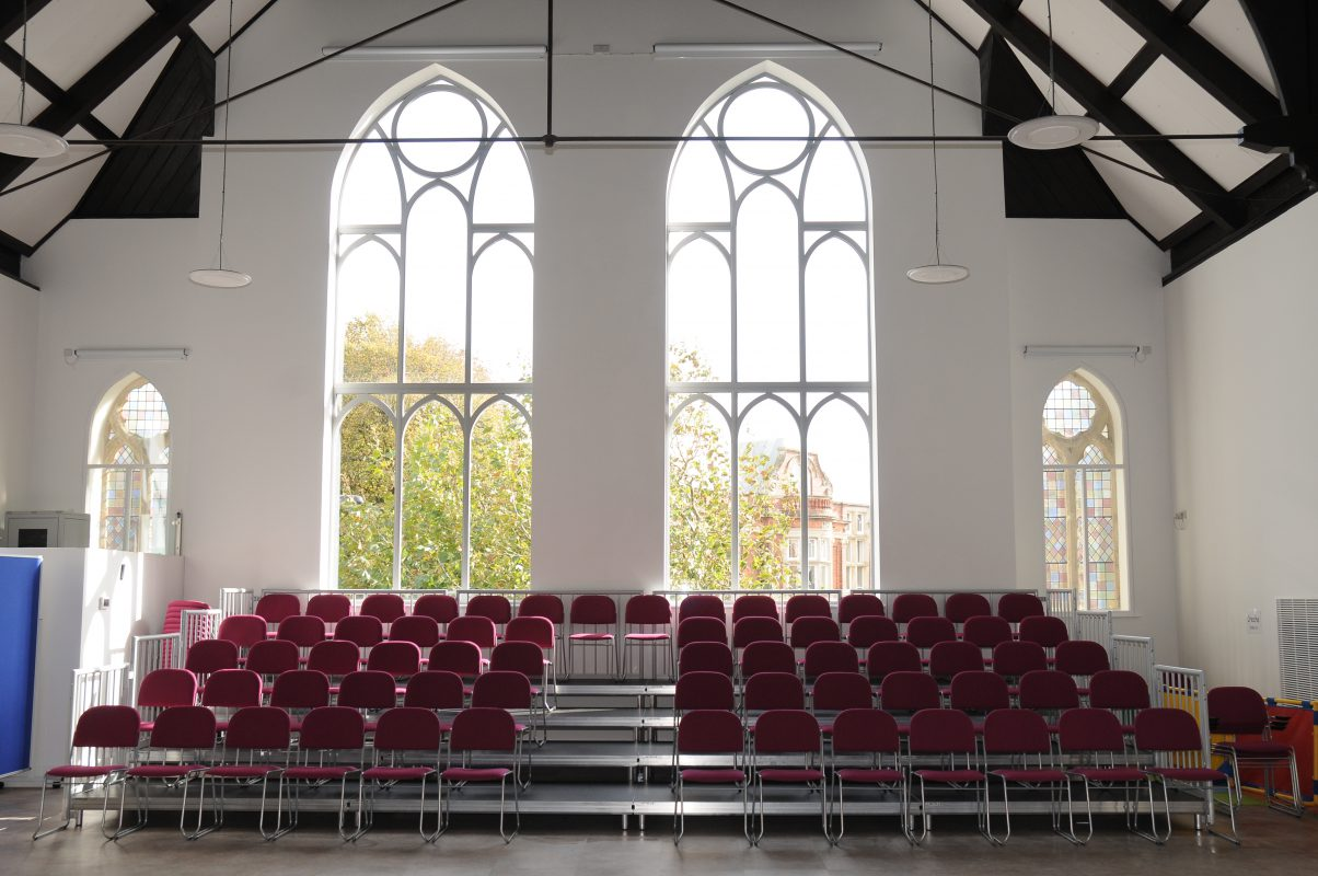 Portable Stages for Churches