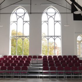 Church Stage Design 8x4m Tiered Seating System