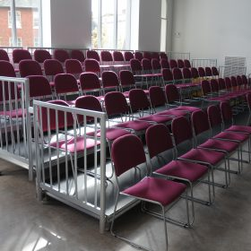 8m Wide 4 Tier Stage Pack