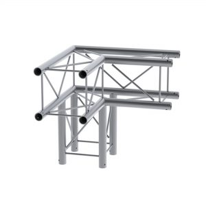 Alustage Deco Truss 3 Way Corner