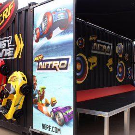 Stage Decks for Nerf Nitro Tour Display