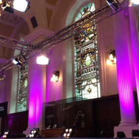 Lighting Truss for Fashion Week St Albans