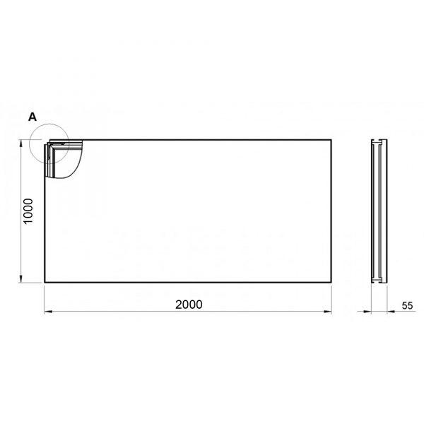 2m Portable Riser Stage
